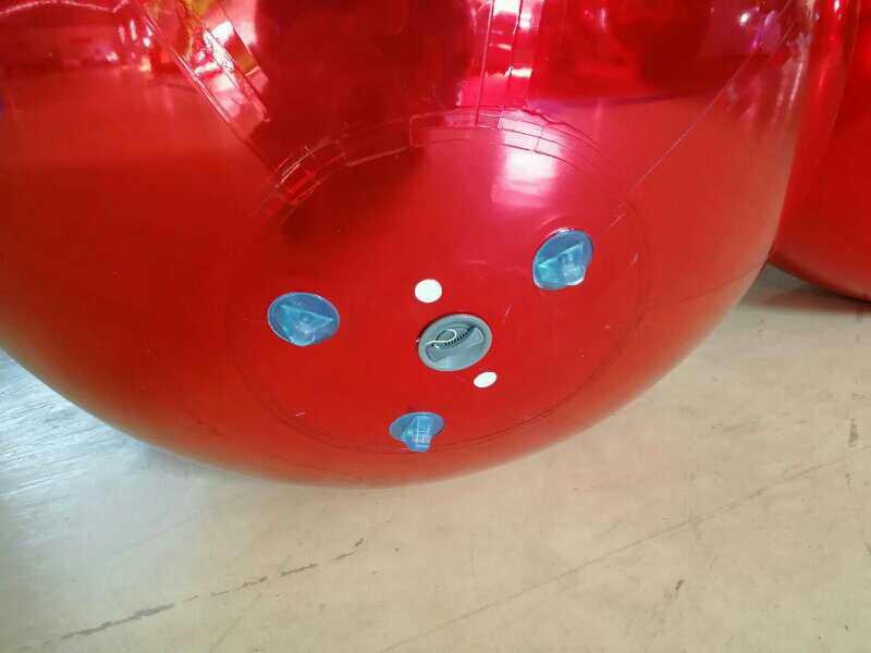0,8 მ წითელი გასაბერი - გარე გართობა და სპორტი - ფოტო 3