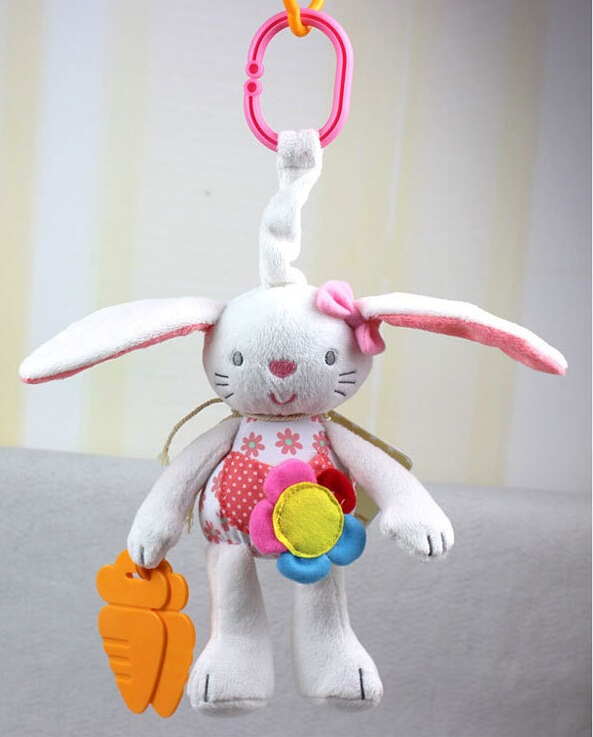 colorful Cow/Rabbit  baby rattle  Bell  Ring toy  baby plush bed Hanging Animal doll  Soft stuffed Teether Multifunction  toys 1000m hercules 8 strands super strong 100% pe power ocean fishing superior extreme 1094yds 70lb 0 44mm braid fishing line