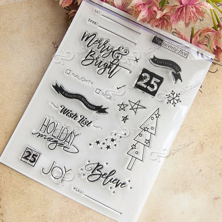 Wish List Transparent Clear Silicone Stamp/Seal for DIY scrapbooking/photo album Decorative clear stamp sheets wish list transparent clear silicone stamp seal for diy scrapbooking photo album decorative clear stamp sheets