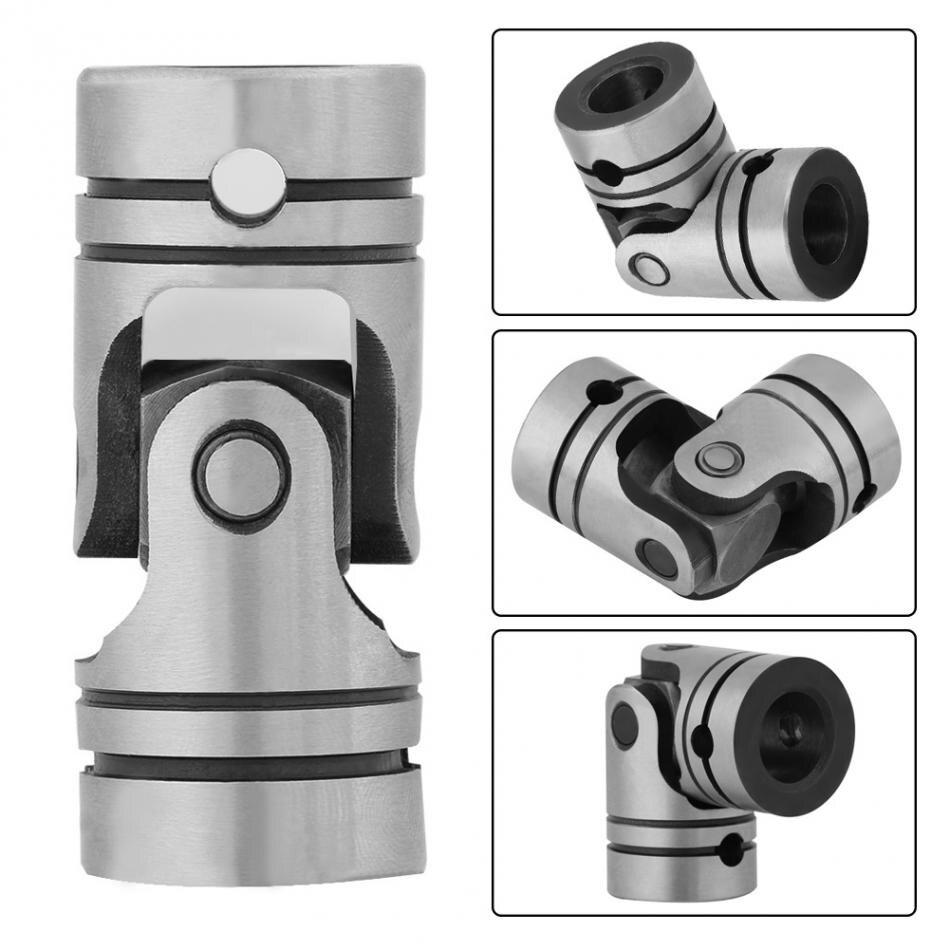 16mm Motor Coupling Connector Universal Steering Steel Joint Shaft 16mm//20mm DIY Motor Joint