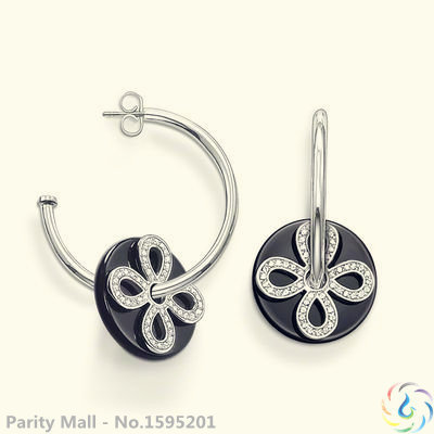 Love Knot Hoop Earrings Thomas Style Glam And Soul Good Silver Jewerly For Women 2015 Ts Gift In silver-plated