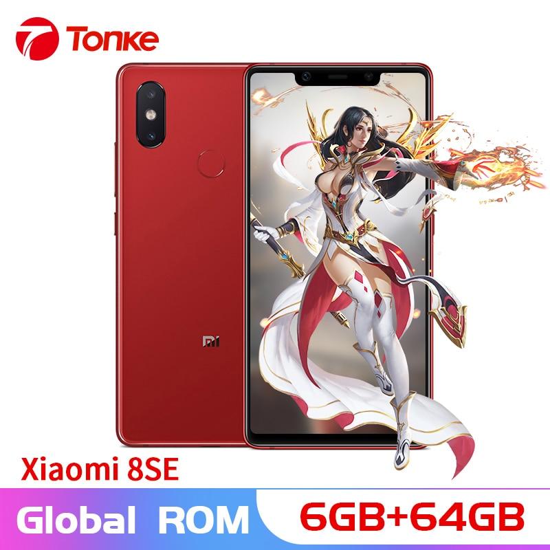 "Original Xiaomi phone Mi8 SE Mi 8 SE 6GB RAM 64GB ROM Snapdragon 710 Octa Core 5.88"" 2144x1080P 3120mAh 20MP Front Camera"