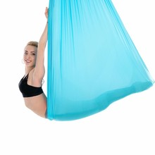Elastic Aerial Yoga Hammock Swing 5 Meters Multifunction Anti-gravity Yoga Belts For Yoga Training Yoga For Sporting 3 meters aerial yoga hammock swing latest multifunction anti gravity yoga belts for yoga training yoga for women s sporting