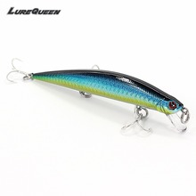 Floating Minnow Fishing lure Laser Laborious bait Wobblers Tyrant Jerkbait contemporary salt water Bass lures with VMC Hooks