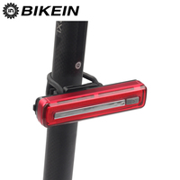 BIKEIN Bicycle Taillight USB Rechargeable Waterproof Outdoor Riding MTB Rear Lamps Super Bright Safety Night Warning