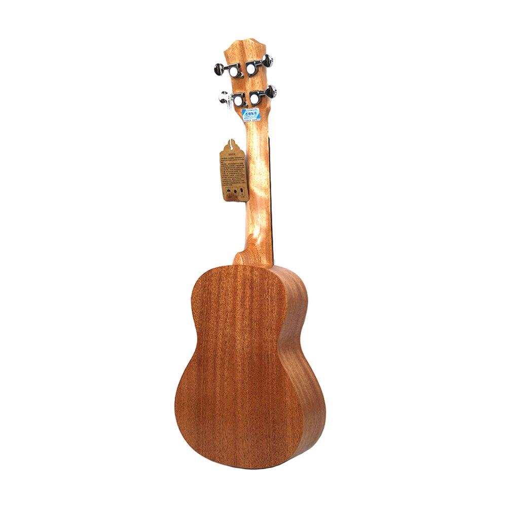 Нейлоновая 4 струнная концертная банджо 26 дюймов Уке укулеле бас гитара ra для музыкальных струнных инструментов подарок для влюбленных - 3