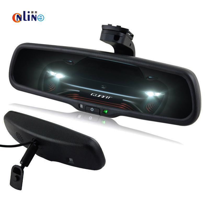 Car Electronic Auto Dimming Interior Mirror With Special Bracket For VW Skoda Toyota Kia Honda Ford Nissan Opel Benz BMW Audi
