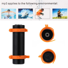 цена на Waterproof MP3 Player 8GB 4GB Built-in Swimming Diving Sports MP3 USB Charging Cable Support FM Headphone Arm Band