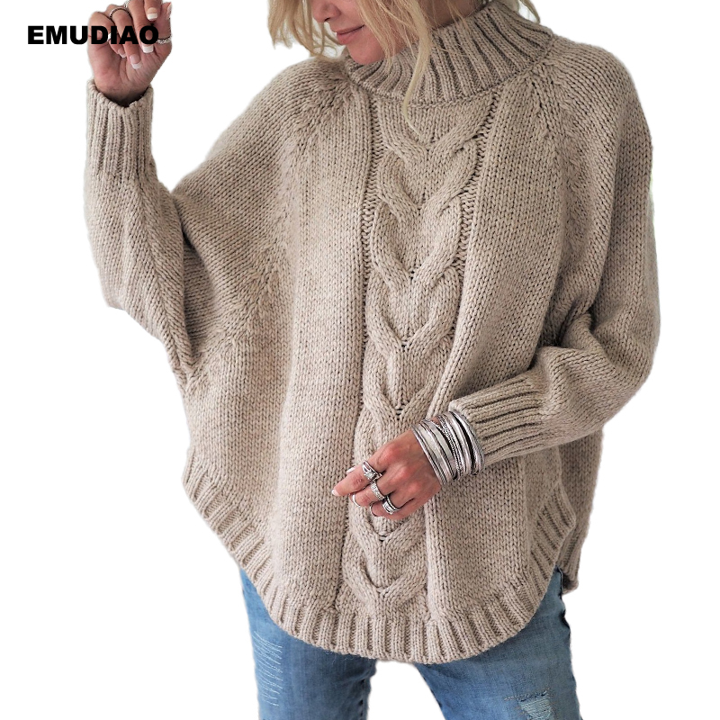 Turtleneck  Loose Pullover  5