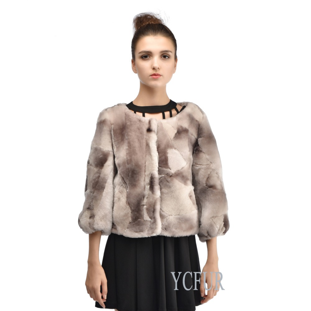 Luxury Women Fur Jackets Winter High Quality Natural Merino Fur Short Coats Winter Fur Coat Shared