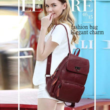 New Fashion Design Women Backpack High Quality Youth Leather Backpacks for Teenage Girls Female School Shoulder Bag Bagpack moch все цены