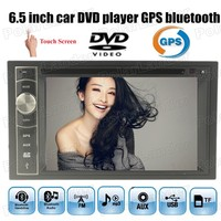 2 DIN Car DVD player TF/USB/GPS Touch Screen 52WX4 WIN CE 2018 New steering wheel control 7 Languages 6.5 Bluetooth Auxin