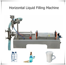 G1WY-1000 High quality Liquid filling machine,piston filler for e liquid, essential oil, soy milk 100-1000ML