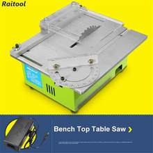 Portable Table Blade DIY Woodworking Cutting Polishing Carving Mini Hobby Table Saws Woodworking benchs saws Cutting Tool(China)