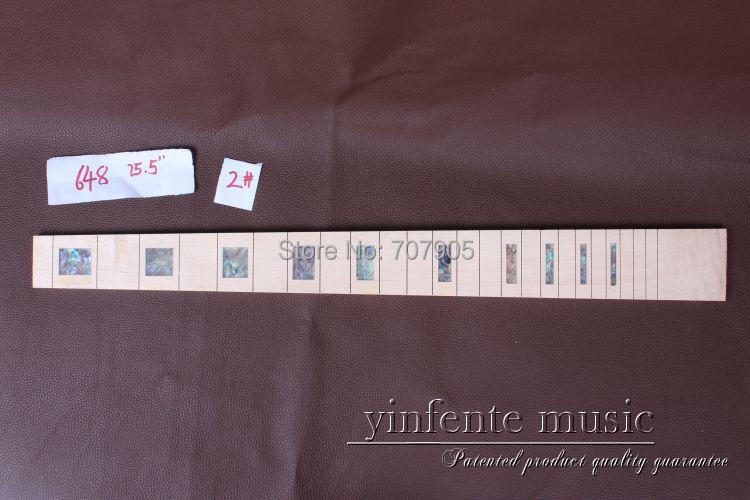 1 x 25.5  Guitar Fretboard electric guitar Maple Wood Fretboard Parts 2 # inlay guitar accessories 1 x 25 5electric guitar fretboard electric guitar maple fretboard parts 00 50 inlay