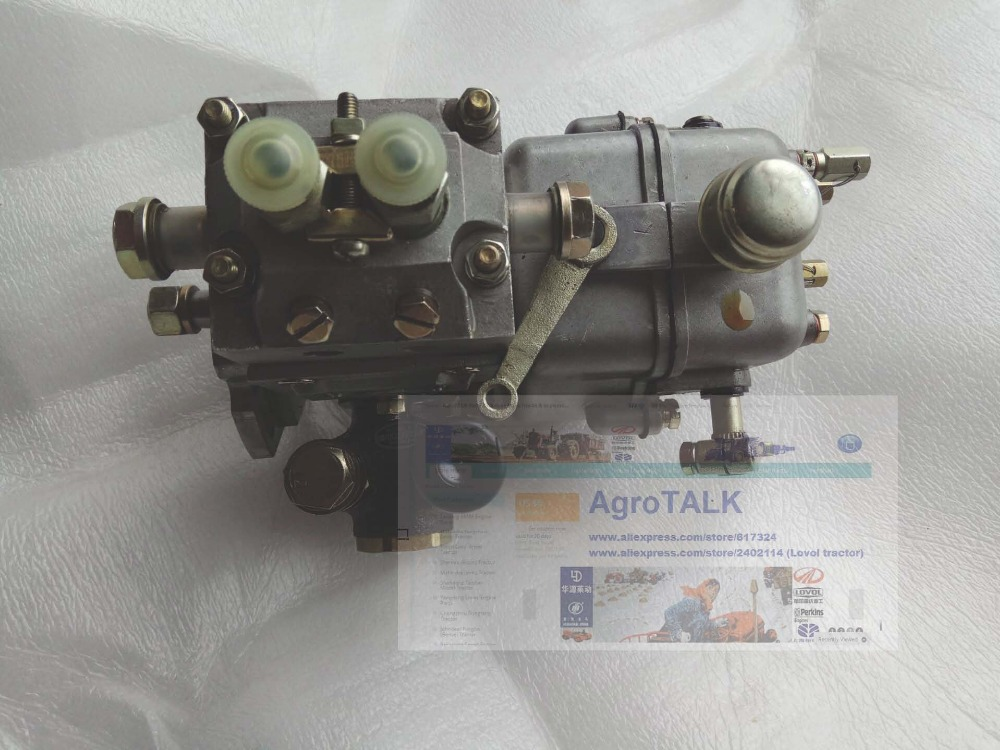 Hubei Shenniu tractor parts, the fuel injection pump (with no connecting coupler) of tractor SN250, SN254 with engine HB295T jiangdong jd495t ty4102 engine for tractor like luzhong series the high pressure fuel pump x4bq85y041
