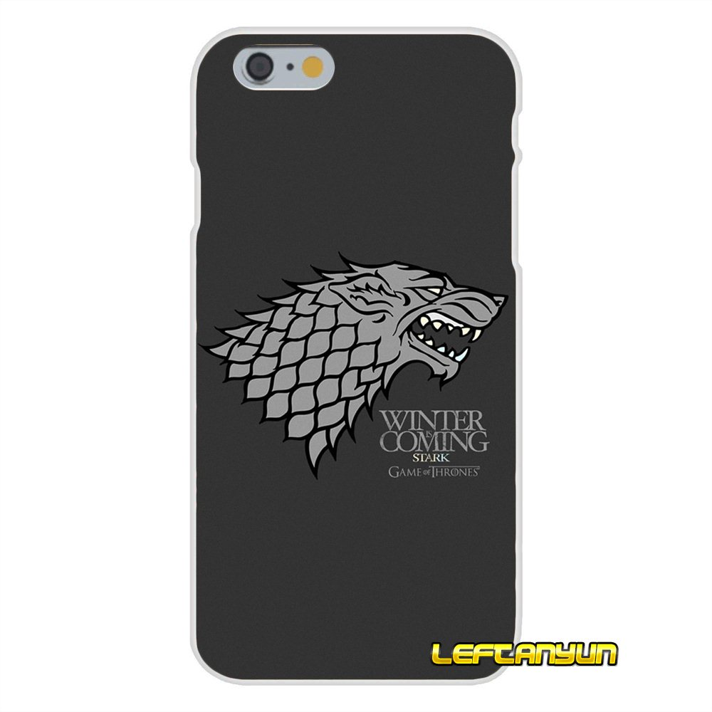 0829f1750 Accessories Phone Cases Covers The North Remembers game of throne For iPhone  X 4 4S 5 5S 5C SE 6 6S 7 8 Plus-in Half-wrapped Case from Cellphones ...