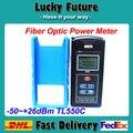 Fiber Optical Power Meter Tester - 50 ~ + 26 dBm TL550C