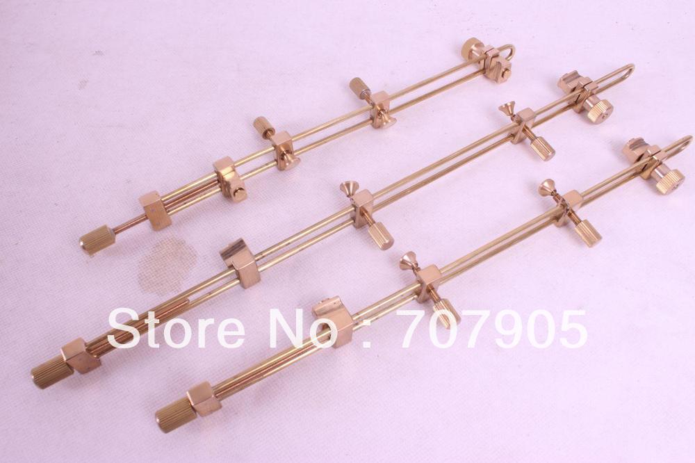 3 шт. Скрипка Инструмент, латунь ремонт трещин зажим, Luthier инструмент# Q38