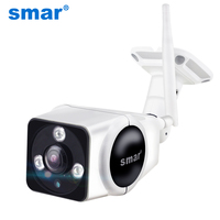 Smar Home Surveillance Outdoor Wi Fi Camera 1.3M IP Camera 360 Panoramic Wireless SD Card Storage Security Cam Night Vision