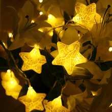 5M led string lights with 20led Star AC110-220V holiday decoration lamp Festival Christmas indoor outdoor lighting