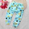 0-dois anos Do Bebê Meninos Calças Harem Pants Algodão Da Menina do Menino Primavera Outono Leggings Calças Criança Moda 2016 Novo