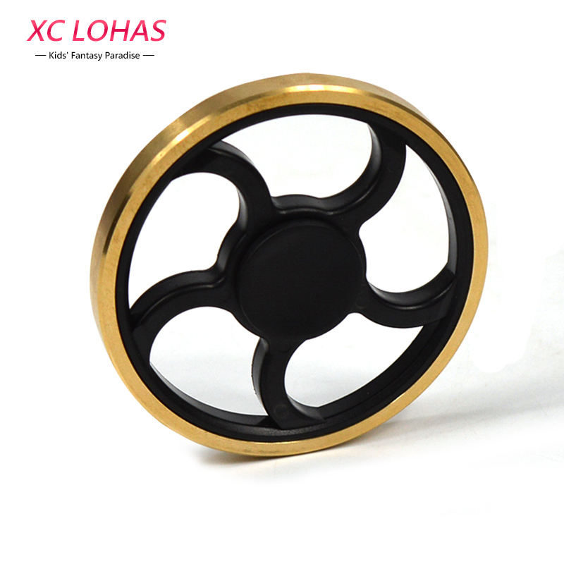 Round Stress Relief Spinner Anti Stress Fid Toys Fingertip Gyro