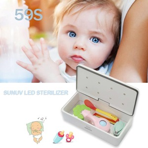 Image 2 - 59S Smart LED UV Sterilizer Box Nails Accessoires Comestics Makeup Brush Personal Care Tools UV Disinfection Box Cleaning Device