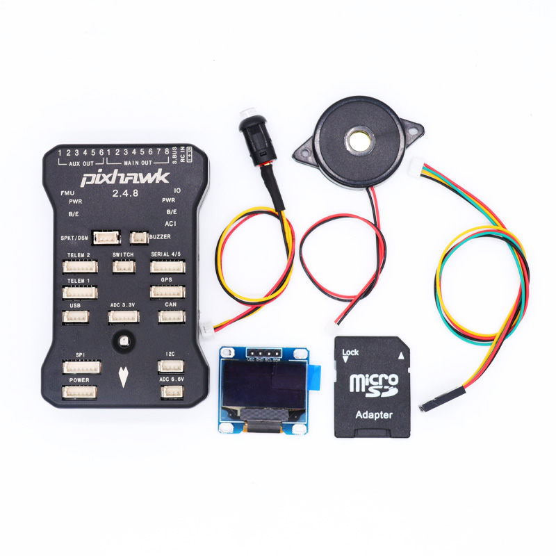 Pixhawk PX4 PIX 2.4.8 32 ビット飛行コントローラ自動操縦 OSD OLED ディスプレイ 4 グラム SD 安全スイッチブザー RC Quadcopter  グループ上の おもちゃ & ホビー からの パーツ & アクセサリー の中 1