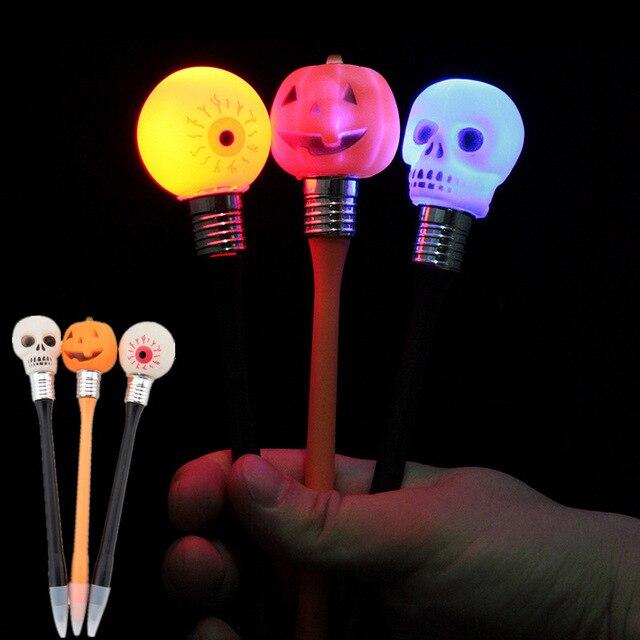 Halloween kids decoration 5 pice lot halloween pumpkin skeleton pen hanging l - Deco halloween enfant ...