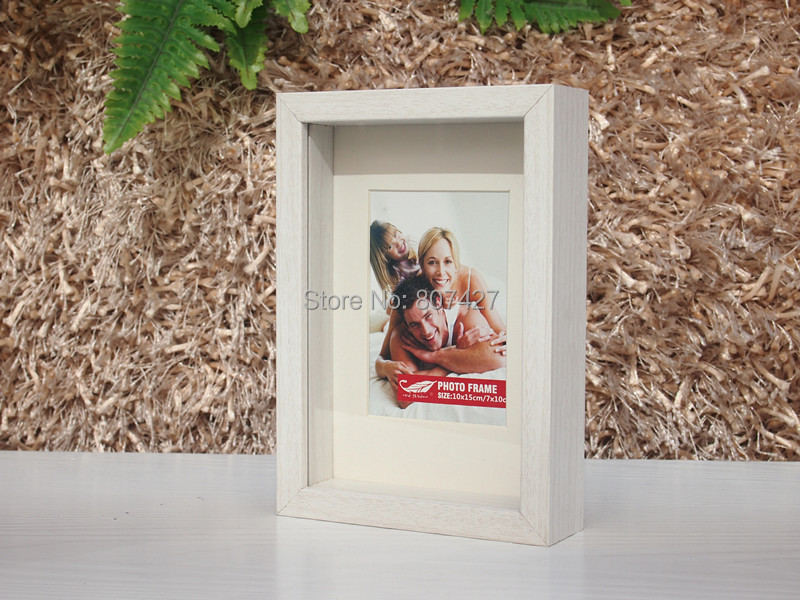 frame shdow box frame box wood frame for photo 5x7 inch usa framechina