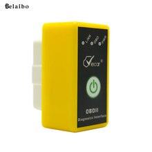 Мини ELM327 obd2 diagnostico Интерфейс Bluetooth Автомобиля Диагностический инструмент Авто Сканер детектор для Android окно