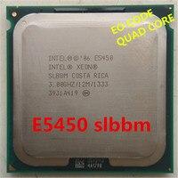 Original XEON E5450 eo slbbm CPU 3.0GHz /L2 Cache 12MB/Quad Core/FSB 1333MHz/ server Processor use some 775 socket mainboard