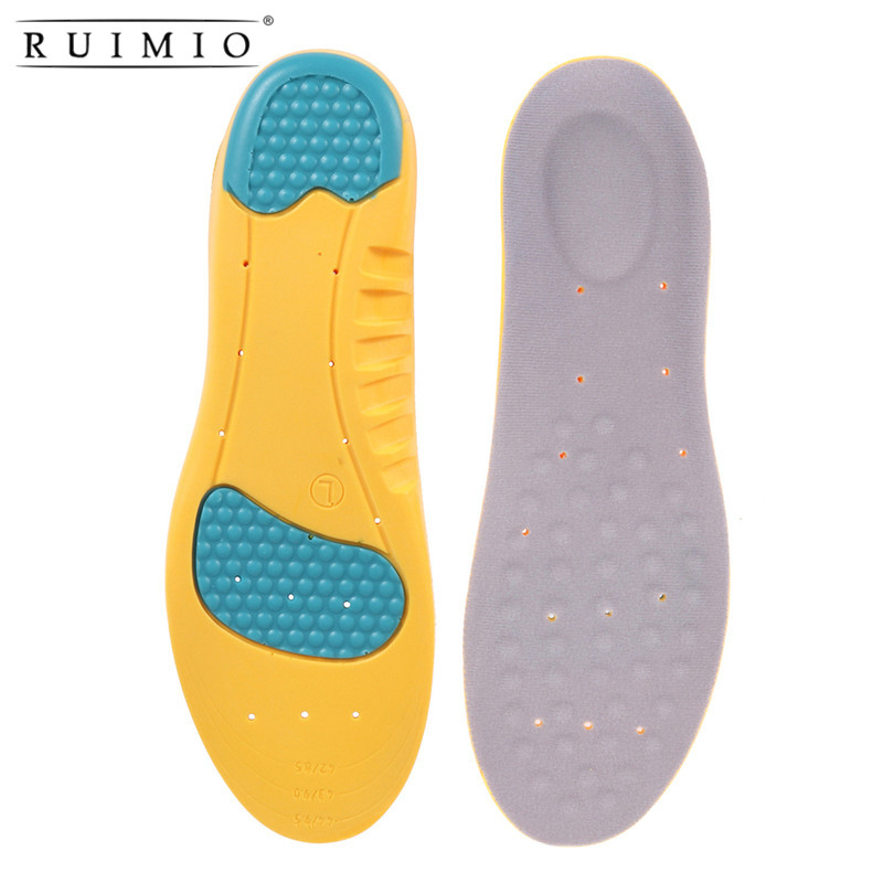 Pair of Memory Foam Orthotic Arch Support Boot Shoes Insoles Insert Pad Comfortable Soft Breathable 1 pair super memory foam orthotic arch insert insoles cushion sport support shoe pads