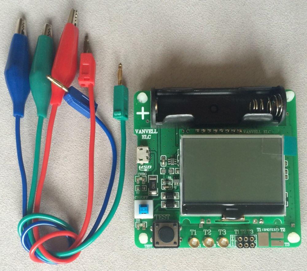 Cumpr Instrumente De Msurare Analize New 37v Version Of Transistor Tester Utilizai Mouse Ul Pentru A Mri Facei Dublu Clic