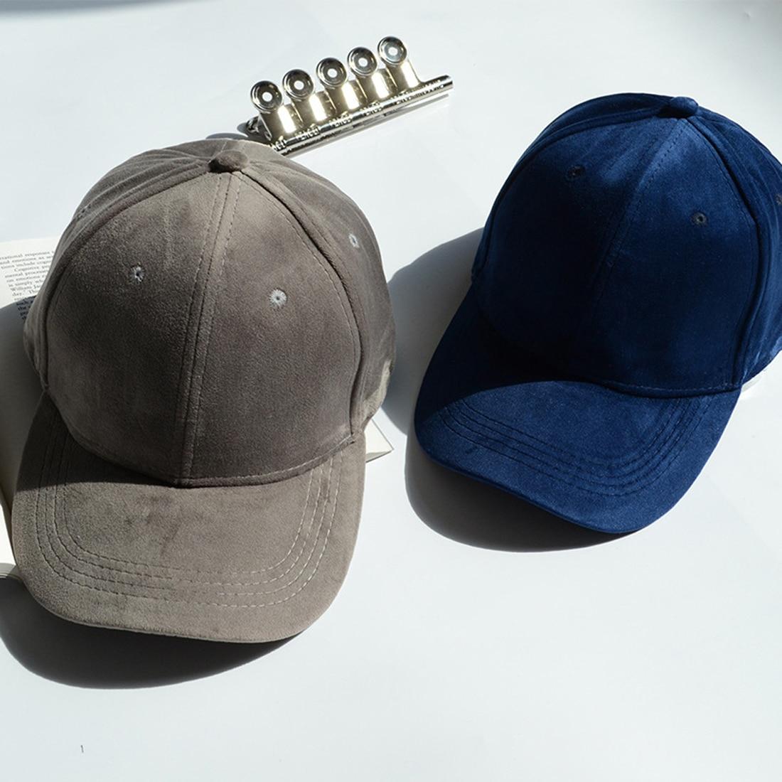 f6681d00139 Hot Women Velvet Baseball Cap Mens Casquette Bones cap Fashion Snapback Cap  Hip Hop Flat Hat Women Gorras