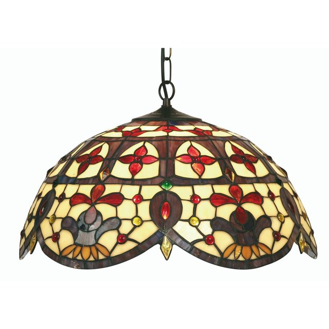 Exceptionnel 12Inches Modern Lighting Jessamine Stained Glass Pendant Light Dining Room  Lamp Fixture,YSL 235