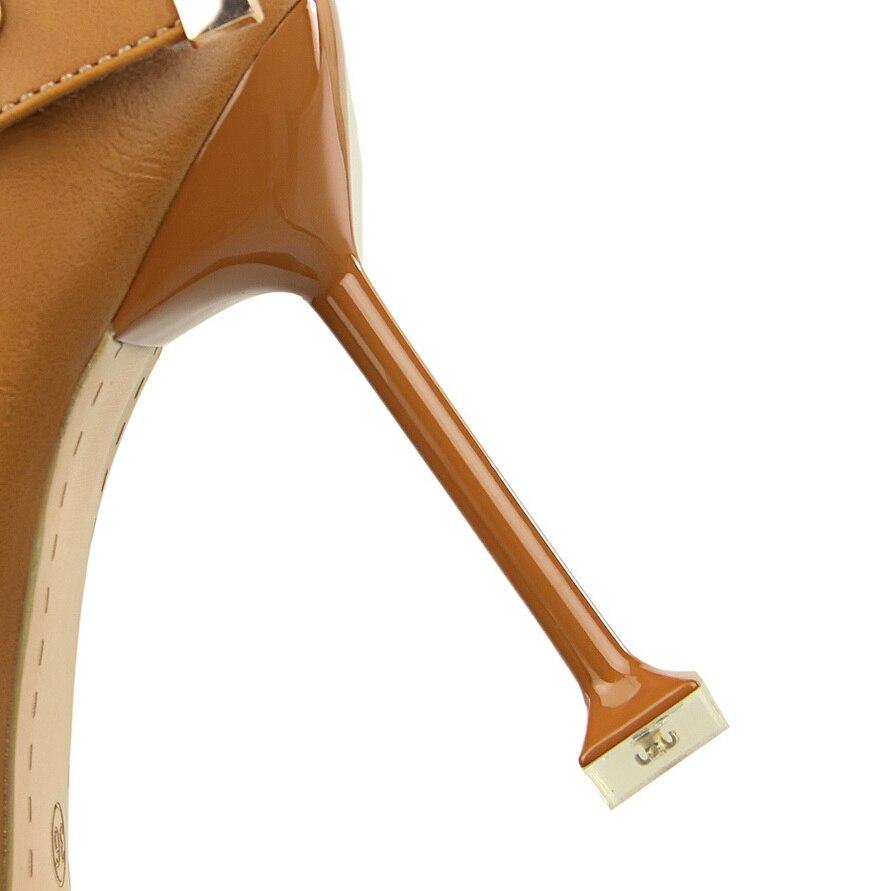 Boucle Chaussures En Lolita Femmes Haute Cuir Mary Urworthit Janes Scarpin Dame Brun Qualité Femelle Talons Mode Heel Cm De 9 Pu Pompes heel 9cm Height Sexy 9cm 17npnxq8R