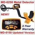 Nueva Llegada MD-6250 MD6250 Detector de Metales Subterráneo Gold Digger Treasure Hunter \ MD6150 Versión Actualizada Garantía de Dos Años