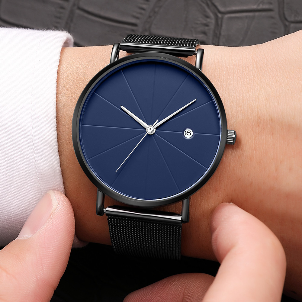 Top Fashion Brand Men Luxury Business Stainless Steel Ultra Thin Watches Men Classic Simple Quartz Date Mens Wrist Watch GiftTop Fashion Brand Men Luxury Business Stainless Steel Ultra Thin Watches Men Classic Simple Quartz Date Mens Wrist Watch Gift