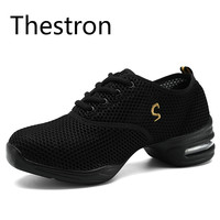 New 2017 Fitness Women Latin Jazz Hip Hop Shoes New Soft Outsole Breath Dance Shoes Practice