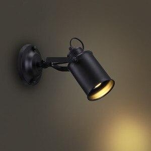 Image 5 - Lampa sufitowa amerykański Retro kraju w stylu Loft LED lampy przemysłowe żelazo, w stylu Vintage sufitowe oświetlenie baru Cafe oświetlenie domu