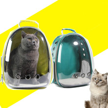 New Cat-carrying Backpack Pet Cat for Kitty Puppy Chihuahua Small Dog Carrier Crate Outdoor Travel Bag Cave
