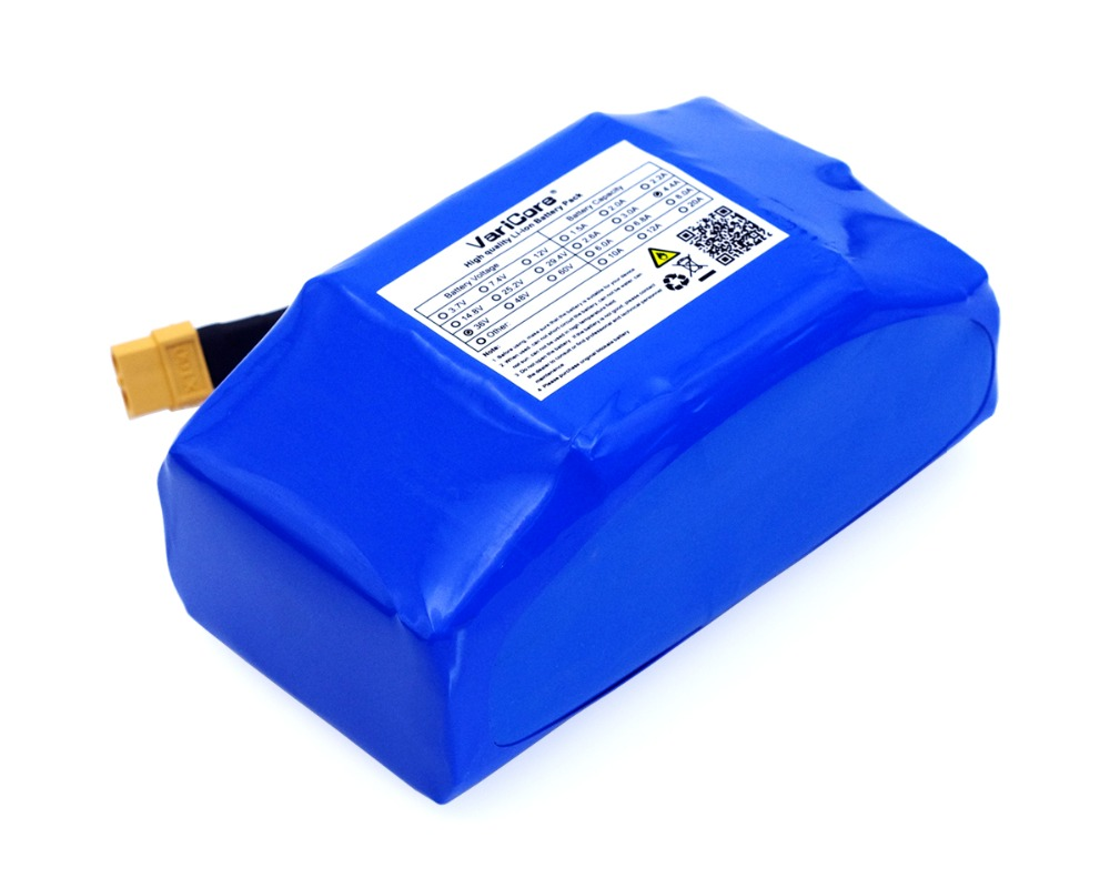 "Image 3 - 36V 4.4Ah 4400mah high drain 2 wheel electric scooter self balancing lithium battery pack for Self balancing Fits 6.5"" 7""-in Battery Packs from Consumer Electronics"