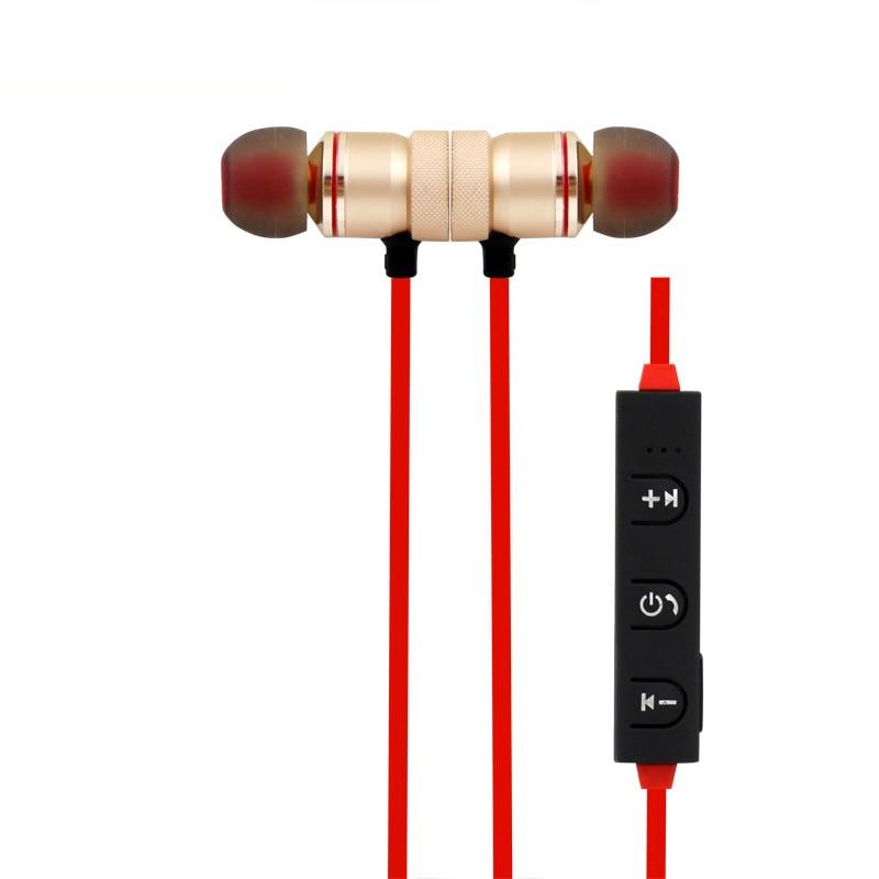 Sweatproof Aimant Bluetooth Écouteurs Avec Micro pour Blackview BV2000 BV5000 BV6000 P2 R6 fone de ouvido pour xiaomi redmi iphone