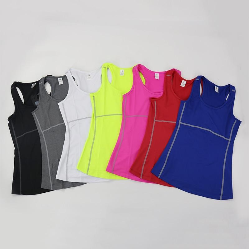 Women's Yoga Tops Sexy Gym Sportswear 7