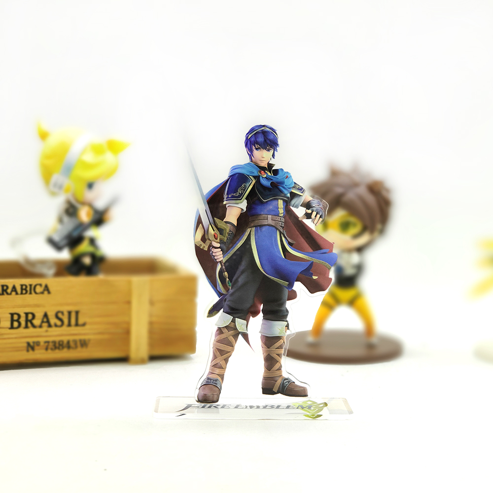 Love Thank You Fire Emblem Marth acrylic stand figure model plate holder cake topper anime cool game image