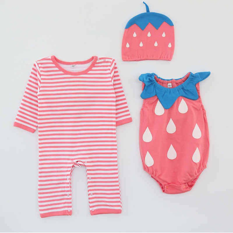 c09856b07 Detail Feedback Questions about Baby girl cotton outfit strawberry ...