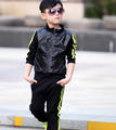 Children's clothing set boys jacket + pants kids sports suit girls sweatshirt tracksuit  2015 brand autumn spring casuai clothes