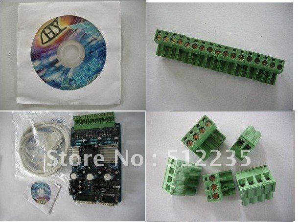 CNC engraving machine stepper motor driver board/3 axis TB6560 3.5A <font><b>16</b></font> <font><b>segments</b></font> stepper motor controller image